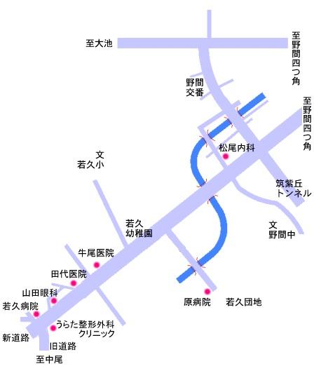 筑紫丘1~2丁目 ・ 若久1~6丁目